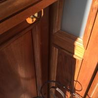 Dettaglio della porta d'ingresso