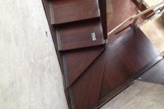 Scala-acciaio-legno