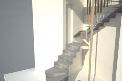 Scala-acciaio-legno-progetto